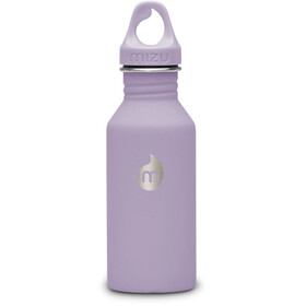MIZU M4 Bottle with Lavendar Loop Cap 400ml Soft Touch Lavendar LE